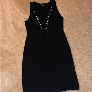 Forever 21 shoelace mini dress